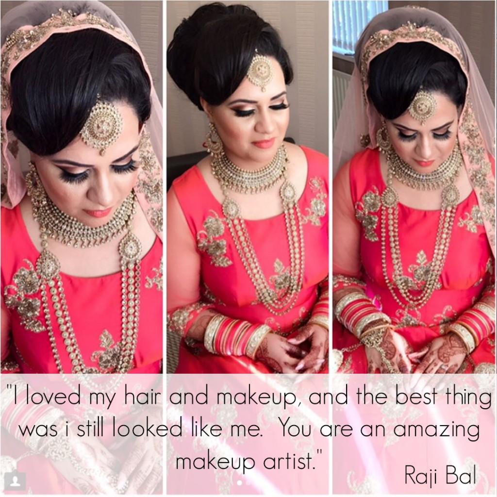 Asian Indian Bridal Hair and Makeup Artist - Birmingham ...