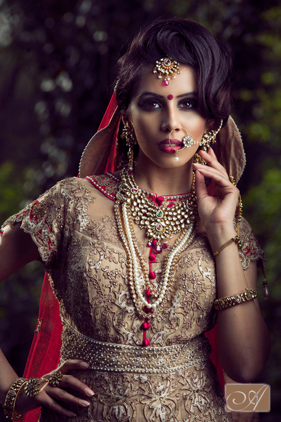 Indian Bridal Wedding Hair and Makeup artist